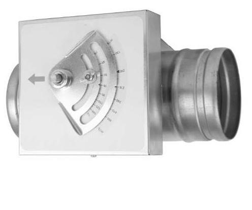 CAV100- Mekanik Sabit Debi Damperi